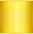 clean golden plate background vector image