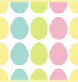 happy easter painting egg painted shell set light vector image vector image