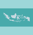 indonesia maps abstract vector image vector image