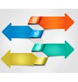 set info graphics banners vector image