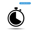 stopwatch icon eps 10 vector image vector image