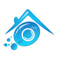 symbol for cleaning and laundry vector image vector image