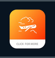 air plane airplane fly mobile app icon design vector image
