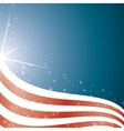 american flag background stripes and stars vector image