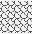 black circles pattern vector image vector image