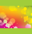 blurred lights background bokeh effect texture vector image