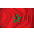 Flag of Morocco vector image