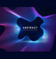 modern party wave abstract background vector image vector image