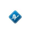 money arrow chart finance for logo design vector image vector image