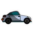 sport car isolated vector image vector image