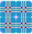 tartan fabric seamless texture square pattern vector image vector image