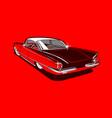 vintage car 15 vector image vector image