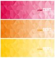 Abstract background brochure template vector image vector image