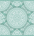 abstract geometric seamless pattern element with vector image vector image