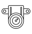 action small camera icon outline style vector image vector image