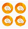 Chat Smile icon Happy face symbol