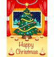 Hapy Christmas Card vector image vector image