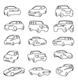 set cars vector image vector image