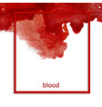 bloodstain vector image