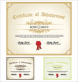 Certificate set vector | Price: 1 Credit (USD $1)