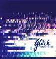 error glitch background vector image vector image