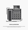 fax message telephone telefax communication icon vector image vector image