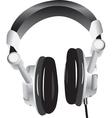 Modern headphones vector image vector image