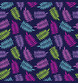 tropical summer palm tree jungle leaf pattern vector image