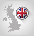 united kingdom country flag vector image vector image