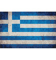 Flag of Greece vector image