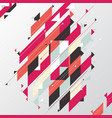 abstract geometric modern diagonal and triangle vector image vector image