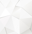 Abstract geometric polygonal paper background vector image