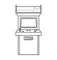 arcade machine design vector image