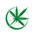 cannabis compass 3d navigational adventure symbol vector image