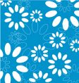 floral seamleass vector image vector image