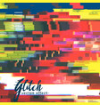 glitch failure corupt image background vector image vector image