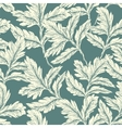 Leaves Background seamless vector image vector image