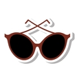 sunglasses modern style isolated icon vector image