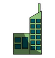 urban building tower vector image vector image