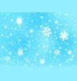 Winter snowfall background