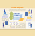 banking and finance business infographic set vector image