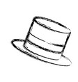hat accessory fashion trendy for men vector image