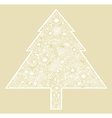 Ornate christmas tree vector | Price: 1 Credit (USD $1)