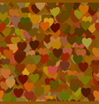 repeating heart pattern background - graphic from vector image vector image