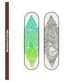 Skateboard Design Alchemical Bottle vector image vector image