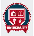 university campus vector image