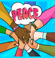 webmany people different races standing vector image