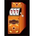 Casino machine vector image
