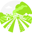 FarmSignGreen vector image