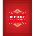 Merry Christmas postcard ornament decoration